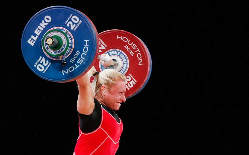IWF World Weightlifting Championship 2015: Day four of competition