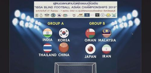 China to defend Blind Football Asian Championships title with Tokyo 2020 spots up for grabs