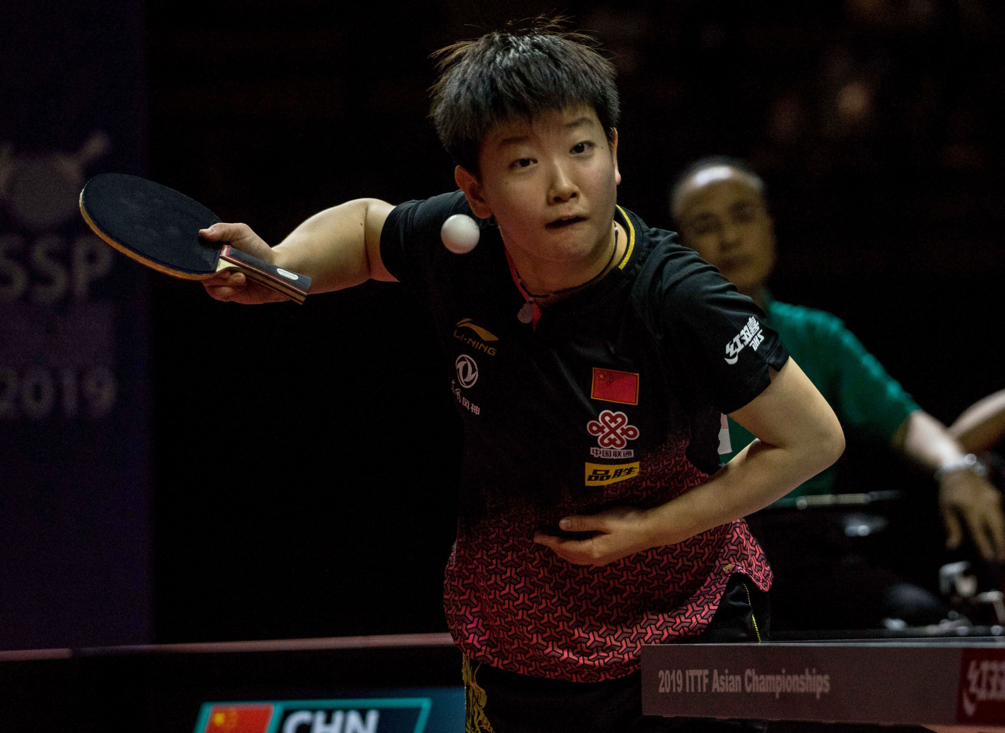 Sun Yingsha will look to strengthen her position at the top of the women's rankings ©Getty Images
