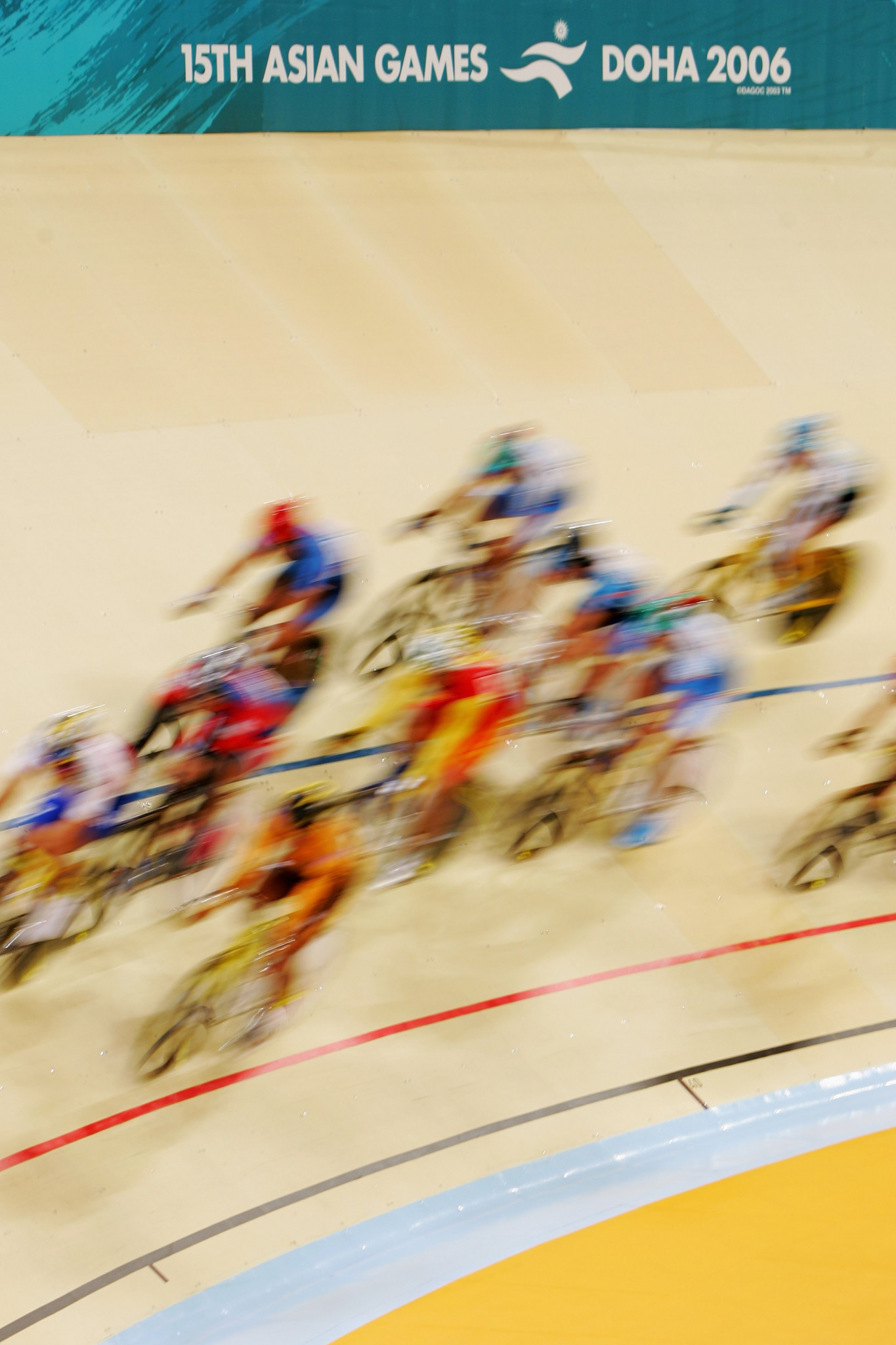 Doha hosted the 2006 Asian Games, an event widely considered a big success ©Getty Images