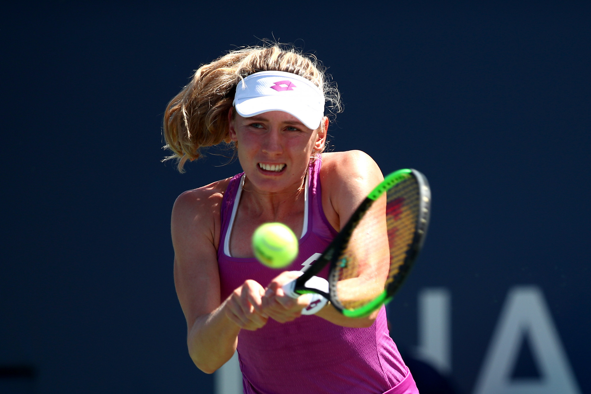 Alexandrova stuns sixth seed Halep at WTA China Open