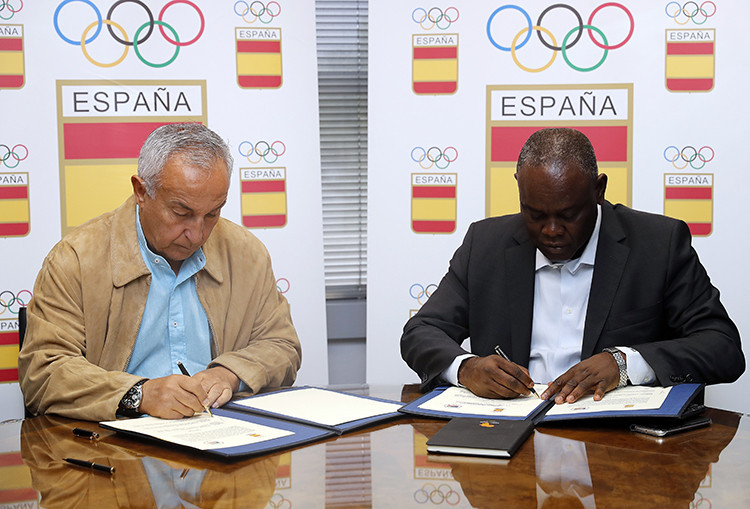 Spanish Olympic Committee sign deals with Guinea and Bahrain