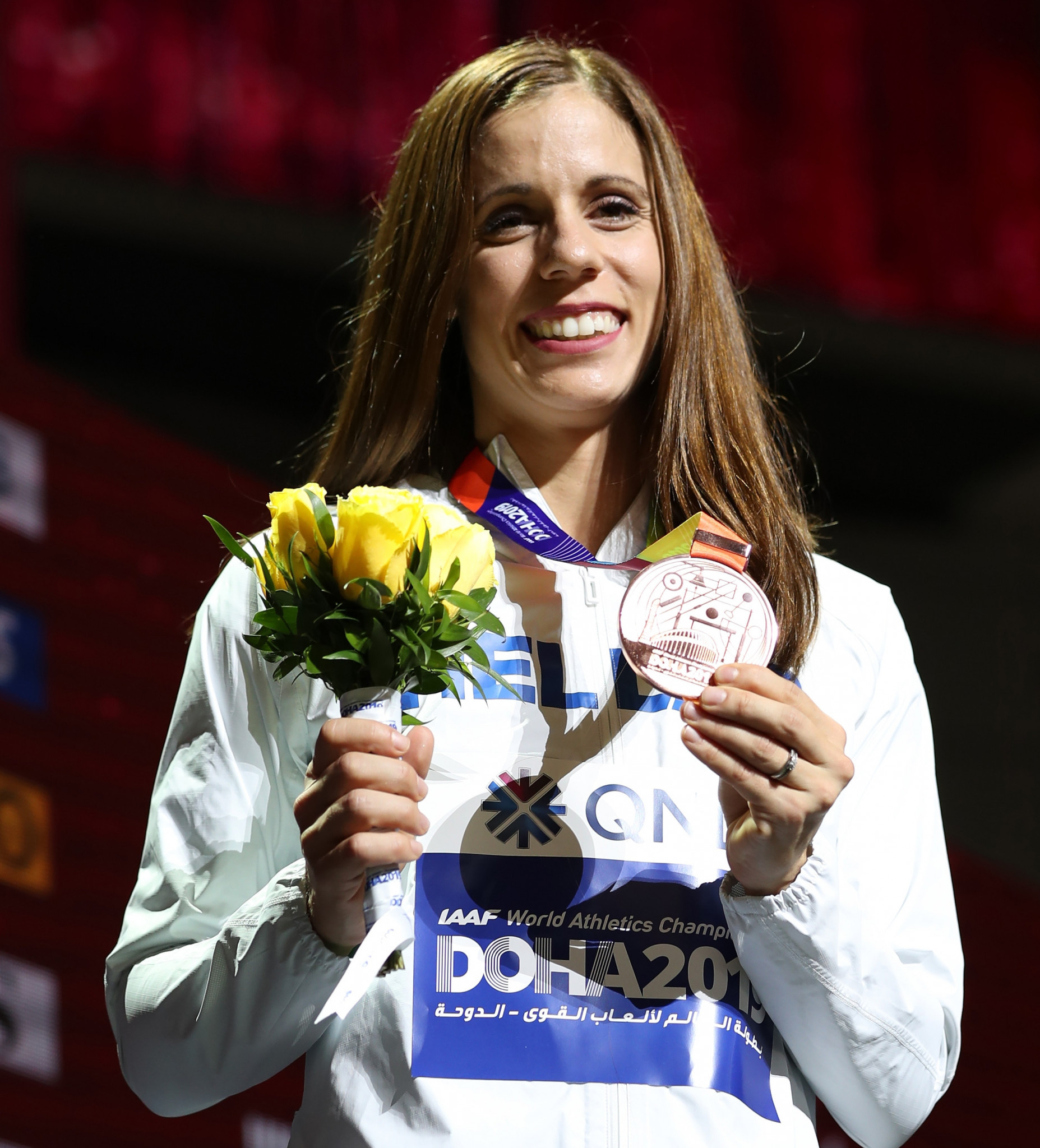 Greece's Olympic pole vault champion Katerina Stefanidi is standing for election to the IOC Athletes' Commission, it has been announced ©Getty Images