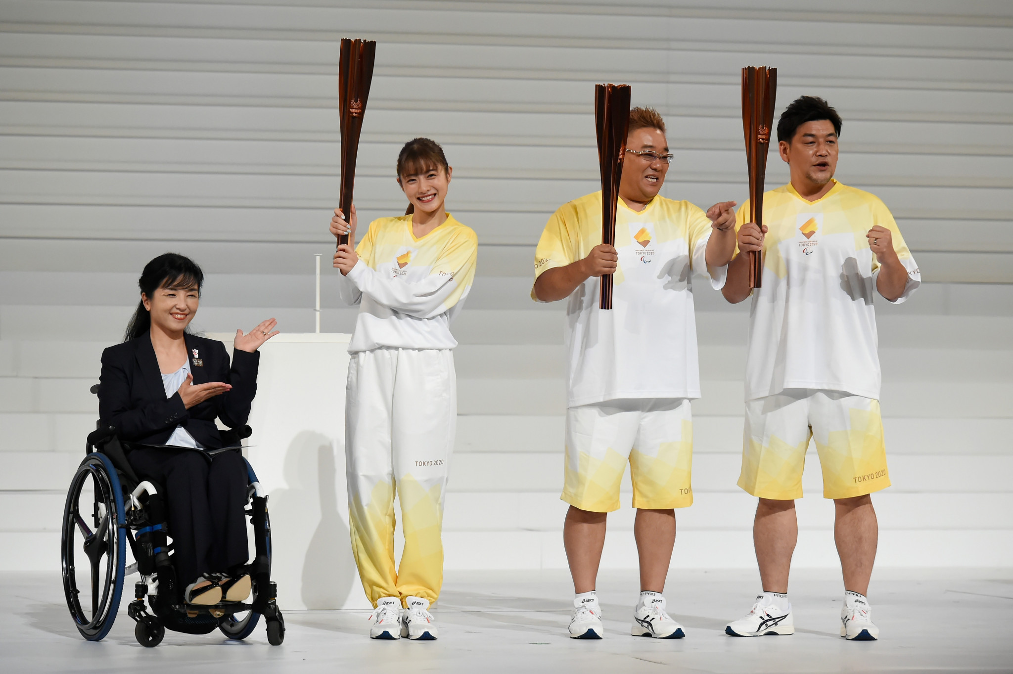 The Paralympic Torch Relay will begin on August 13 ©Getty Images