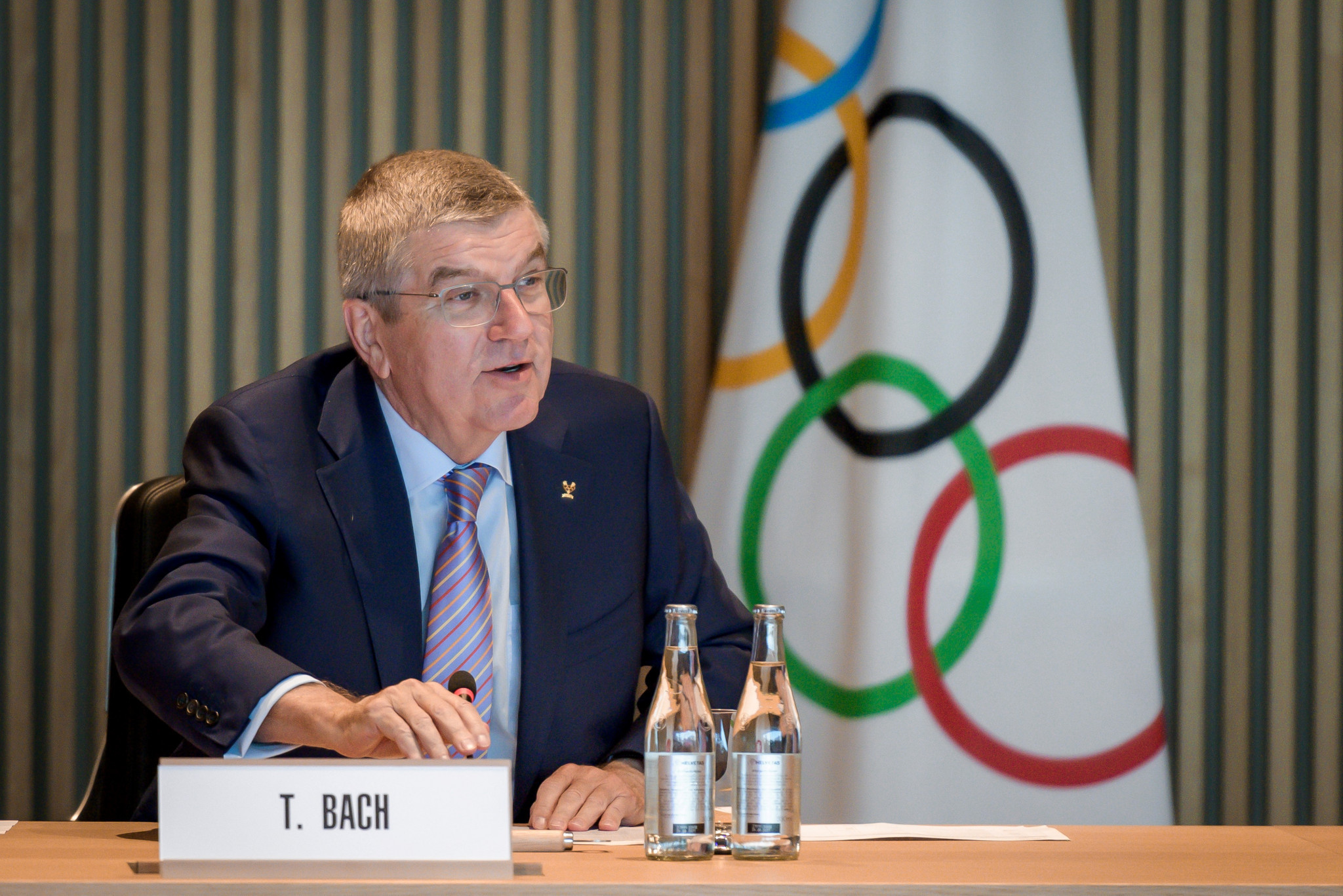 IOC President Thomas Bach said he would write to WADA to seek the information ©Getty Images