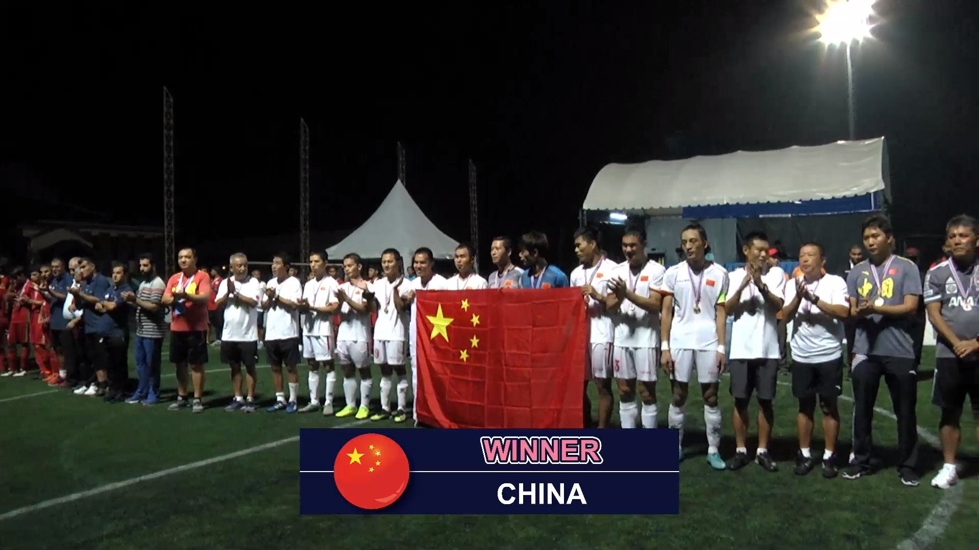 China beat Iran to defend Blind Football Asian Championships title
