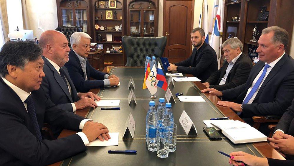 WKF President praises growth of karate in Russia