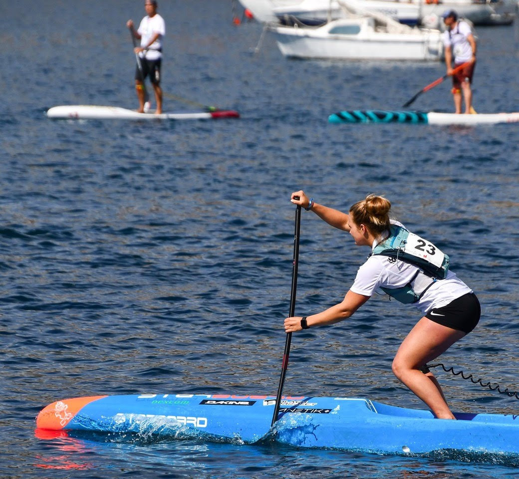 Starboard has worked with the ICF in the past at Stand-Up Paddling World Championships ©ICF