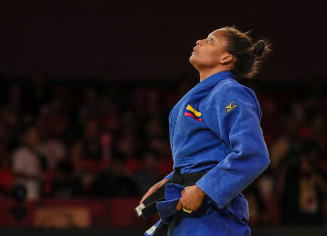 Olympic champion Alvear battles to second IJF Grand Slam title