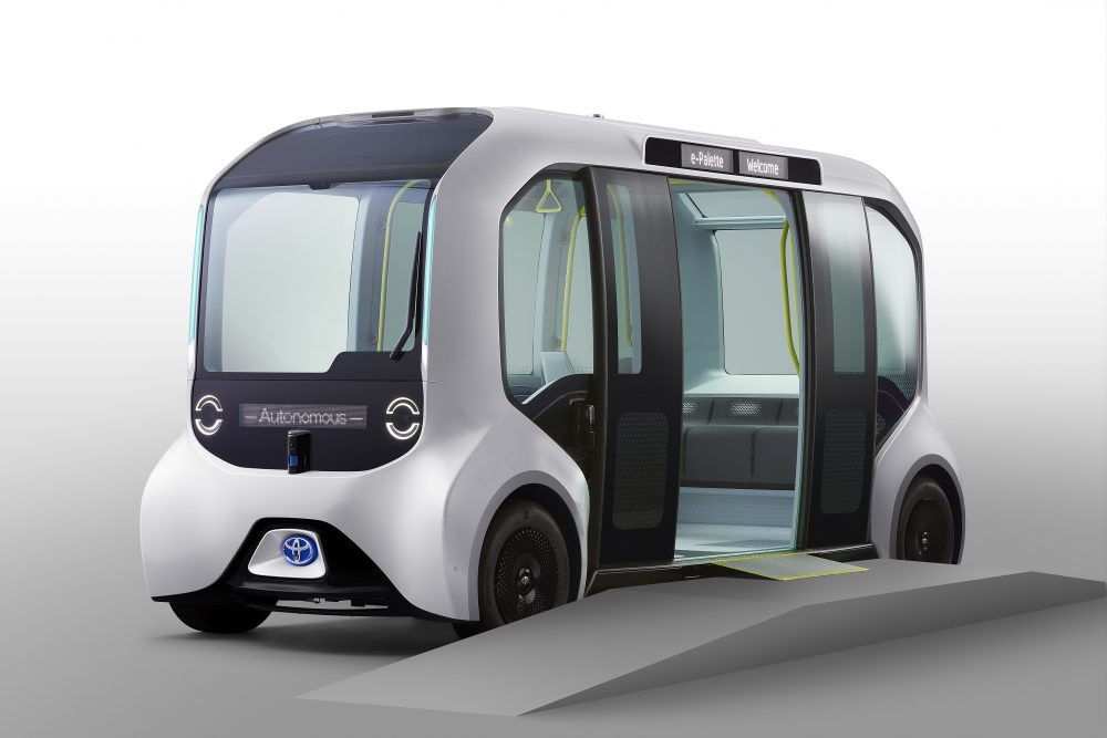 """The """"Tokyo 2020"""" version of the Toyota e-Palette will run a loop service in the Athletes' Villages ©Toyota"""