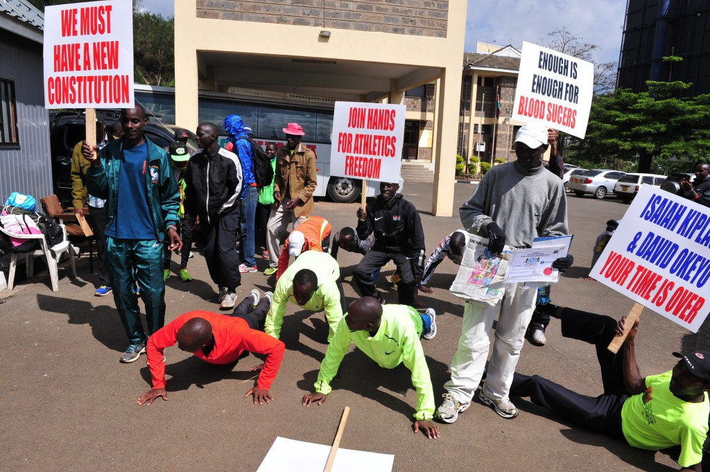 Athletics Kenya agree to increase athletes' representation as two-day protest ends