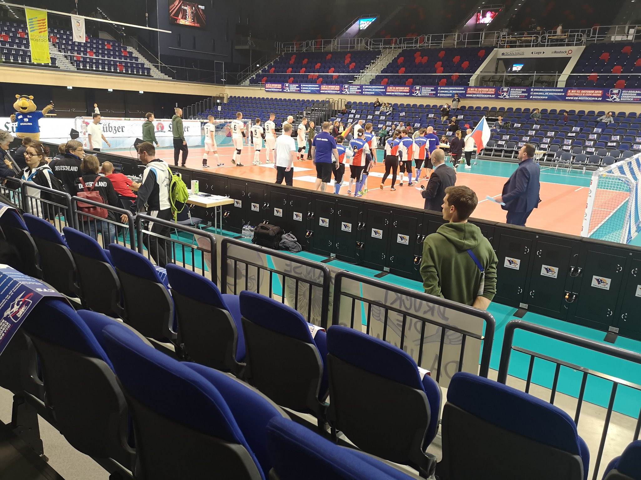 Hosts Germany in last eight at IBSA Goalball European Championships