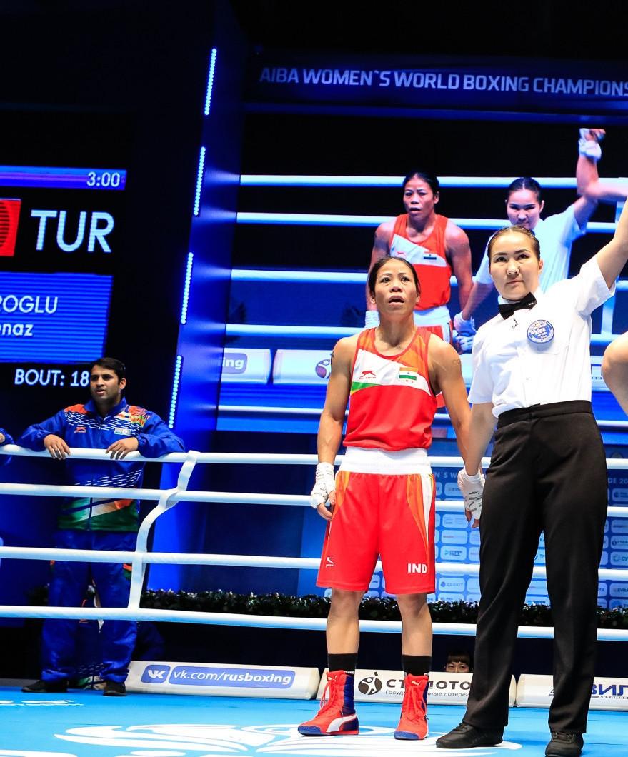Kom criticises judging following semi-final loss at AIBA Women's World Boxing Championships