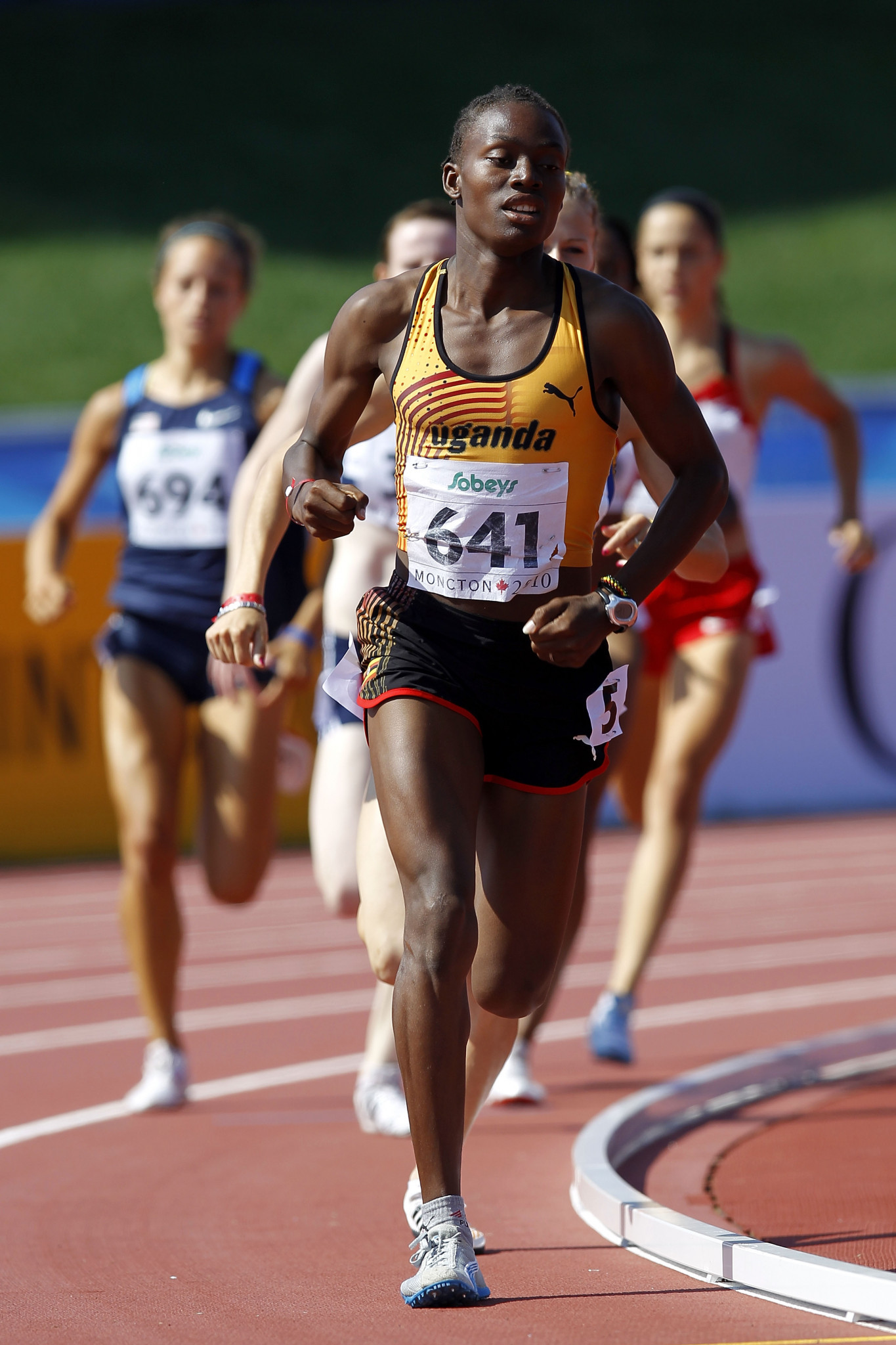Uganda runner Annet Negesa claimed during an interview on German television that she had been given no choice over having surgery to lower her testosterone levels, which had had serious health issues ©Getty Images