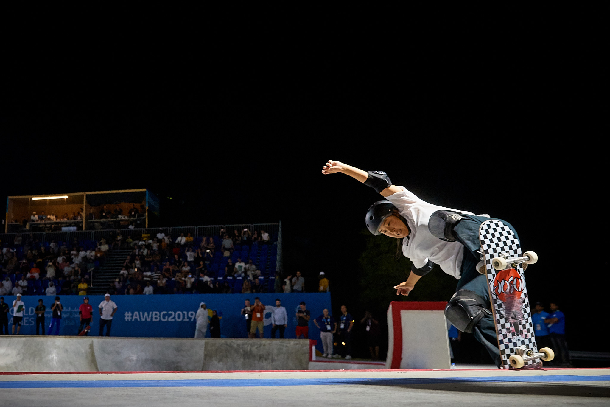 The competition at the ANOC World Beach Games gave us a glimpse of what to expect when skateboarding makes its Olympic debut at Tokyo 2020 ©ANOC World Beach Games