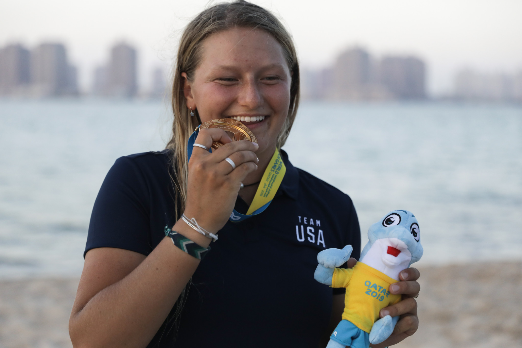 Dolphy bonus for Moroz after ANOC World Beach Games kitefoil gold