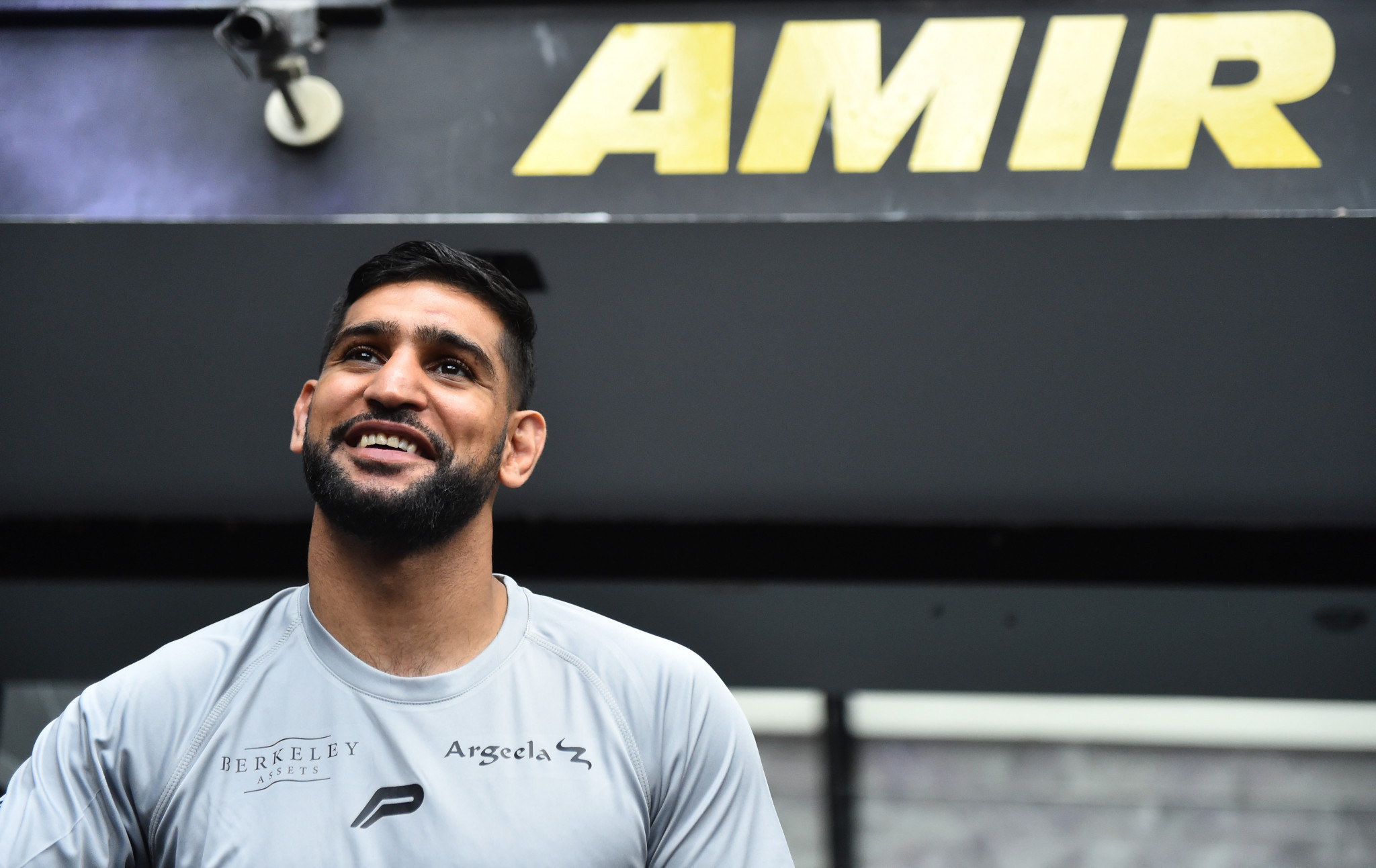 Amir Khan was perfectly happy to fight Billy Dib in Jeddah ©Getty Images