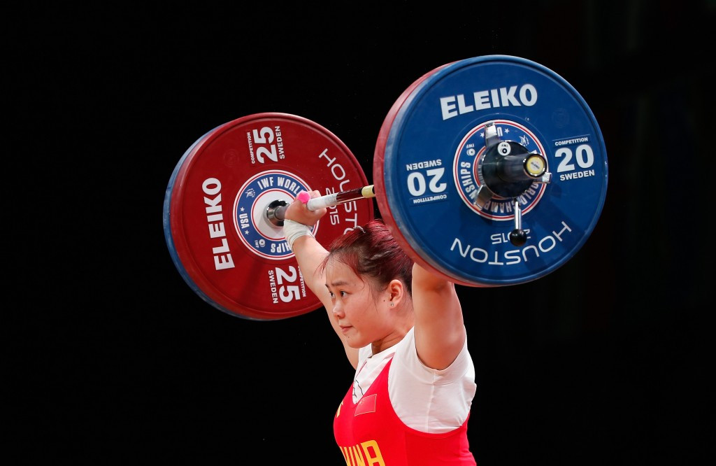 IWF World Weightlifting Championship 2015: Day six of competition