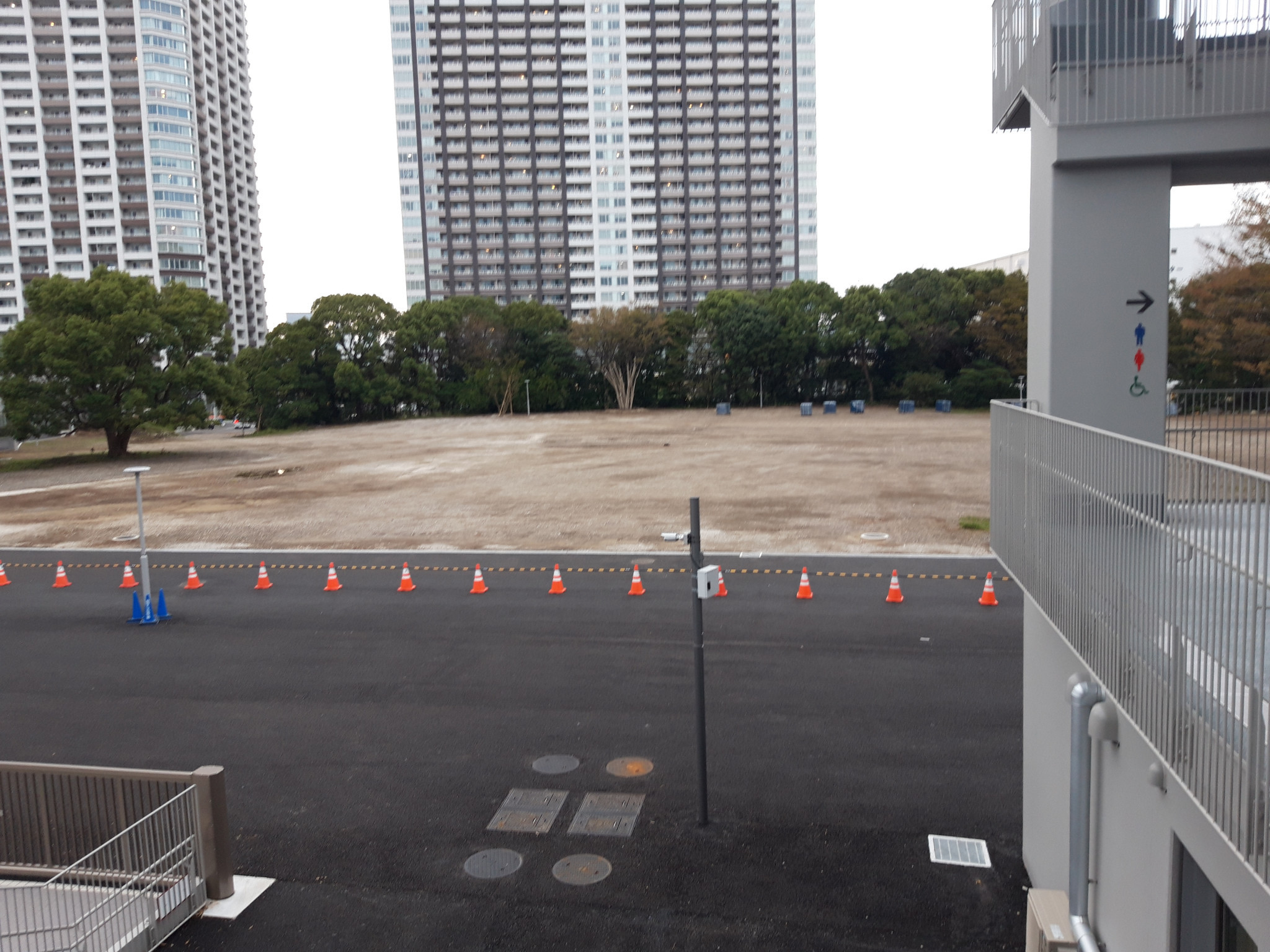 Construction of court two at Ariake Tennis Park is due to begin in November ©ITG