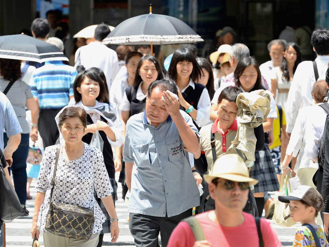 Record summer temperatures in Tokyo have caused multiple deaths ©Getty Images