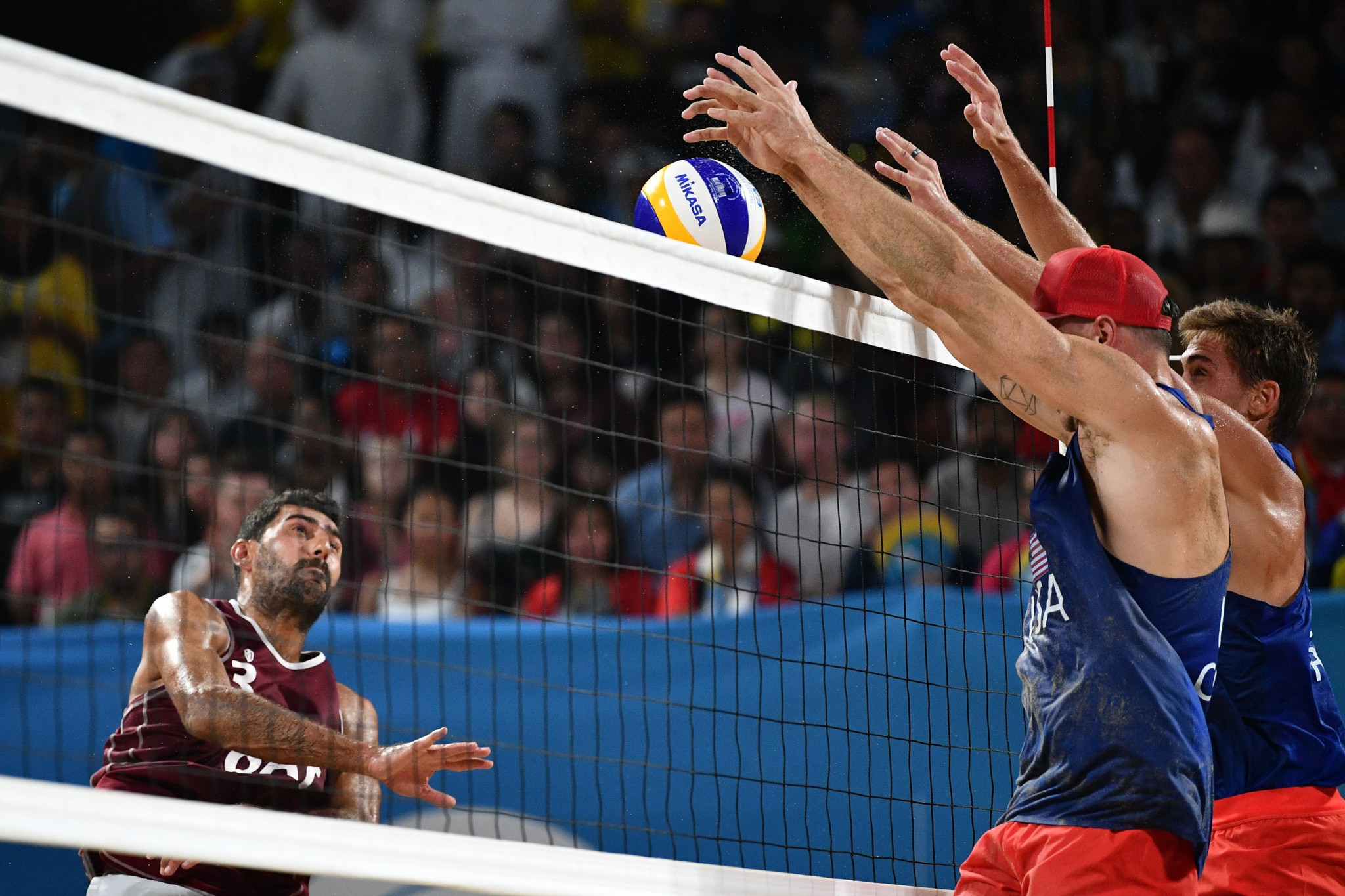 United States claim beach volleyball double at ANOC World Beach Games