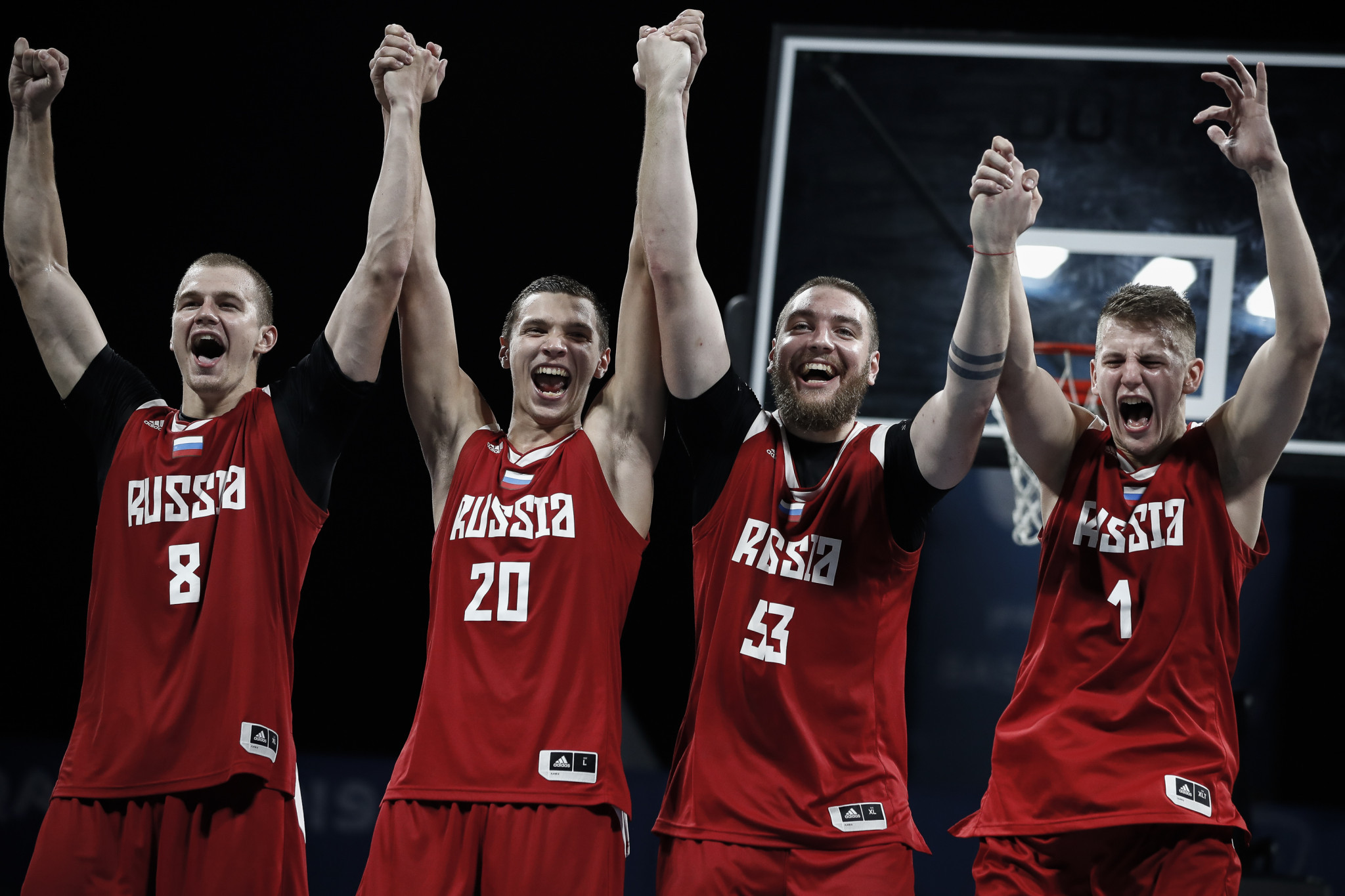 Young star leads Russia to men's 3x3 basketball title at ANOC World Beach Games