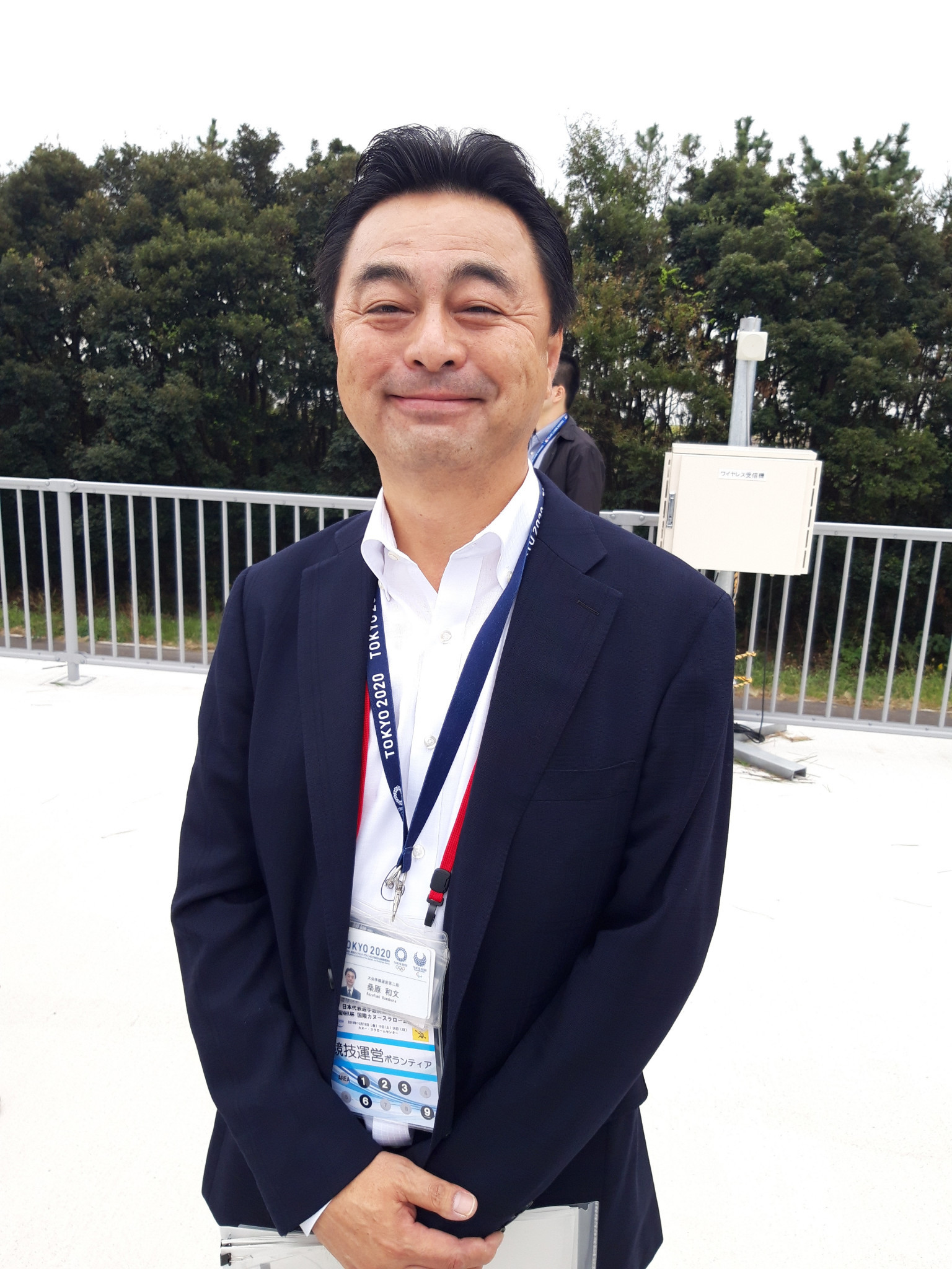 Kasai Canoe Slalom Centre manager Kazufumi Kuwabara said the Olympic venue could transform the sport in Japan ©ITG