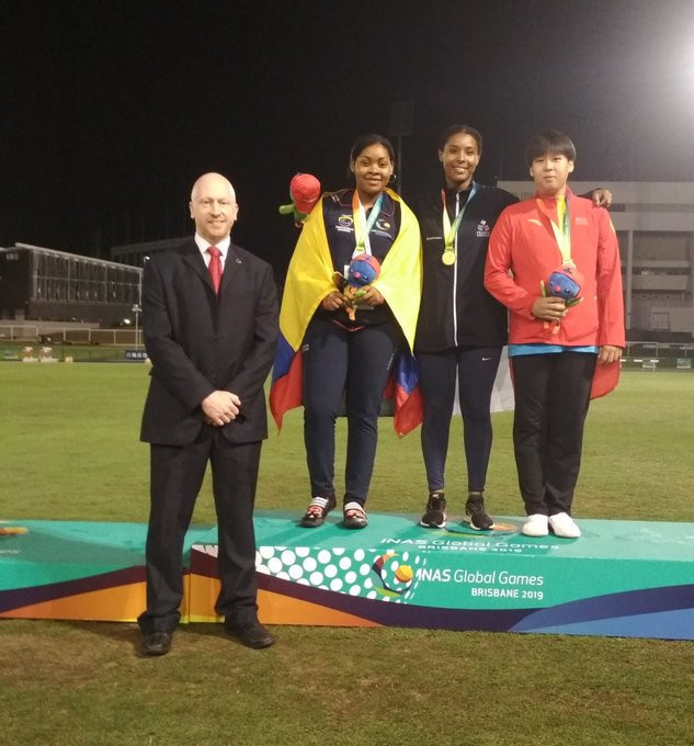 Discus thrower Agblemagnon shines at INAS Global Games