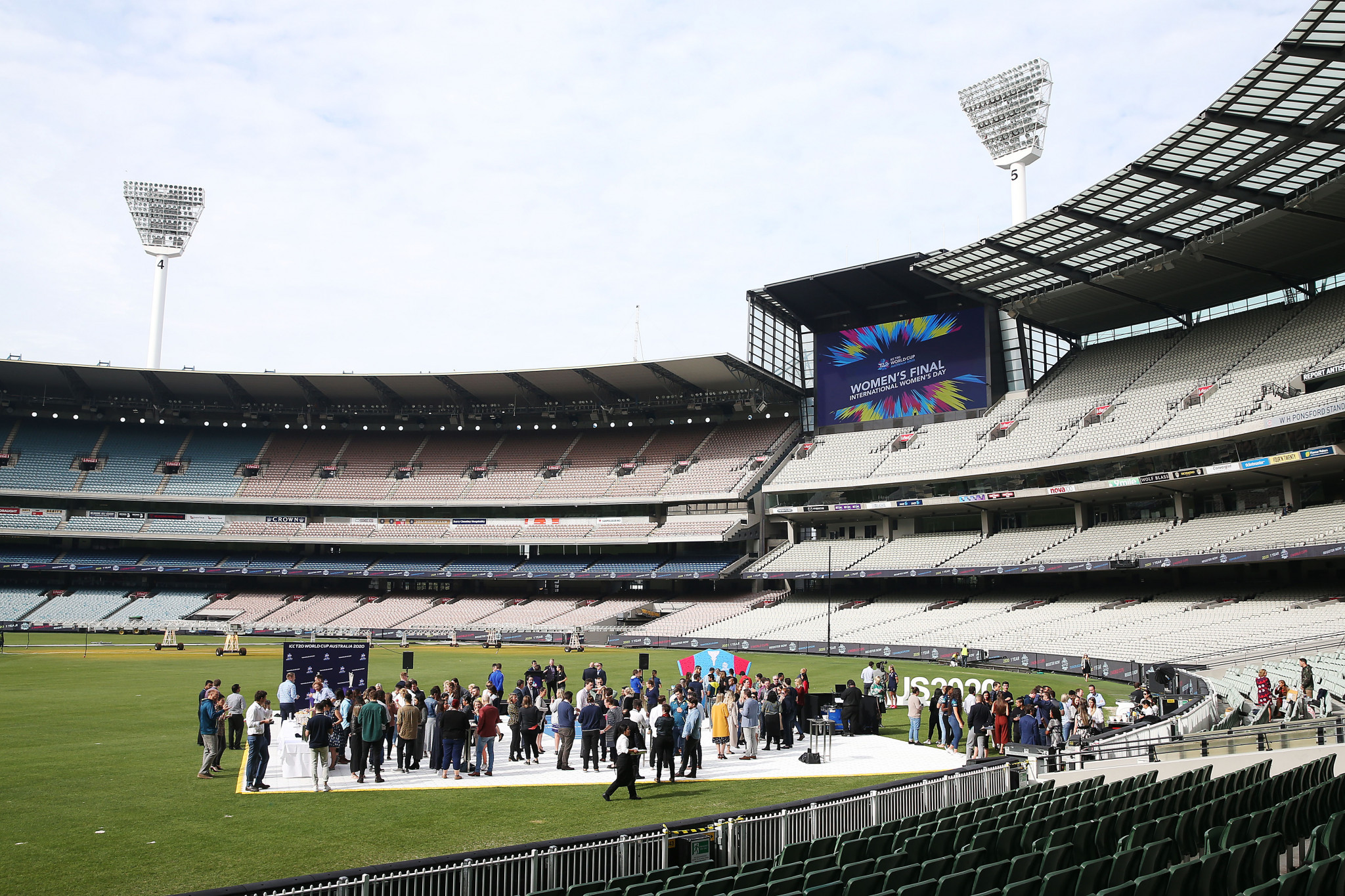 Melbourne Cricket Ground will host the women's T20 World Cup final ©Getty Images