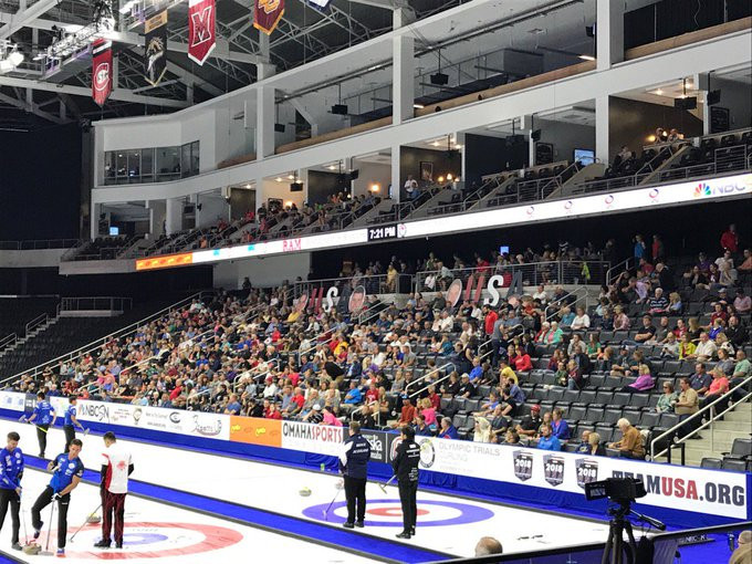 Omaha hosted the Olympic trials in 2017 ©USA Curling