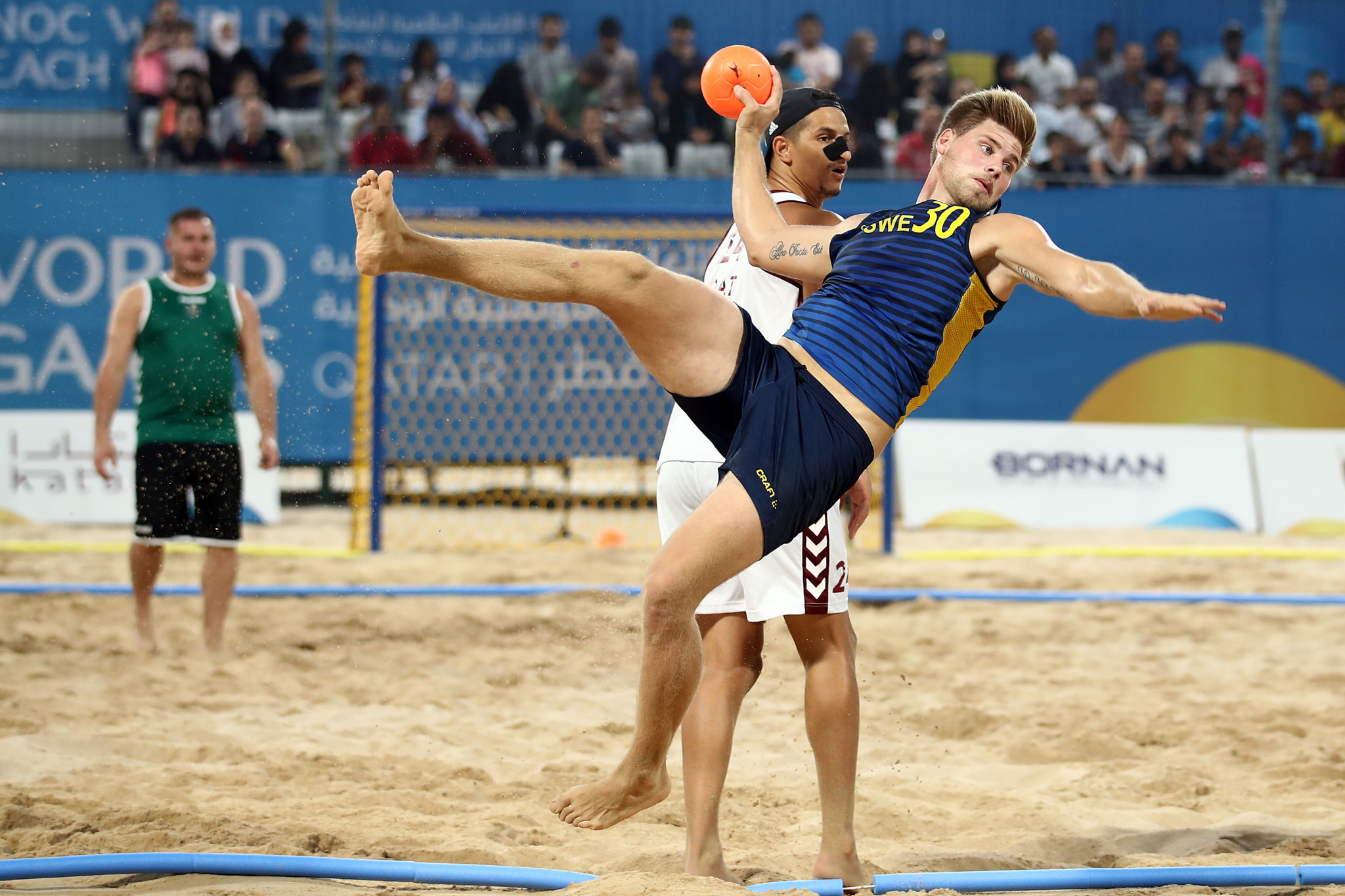 The first ANOC World Beach Games concluded here on Wednesday ©Getty Images