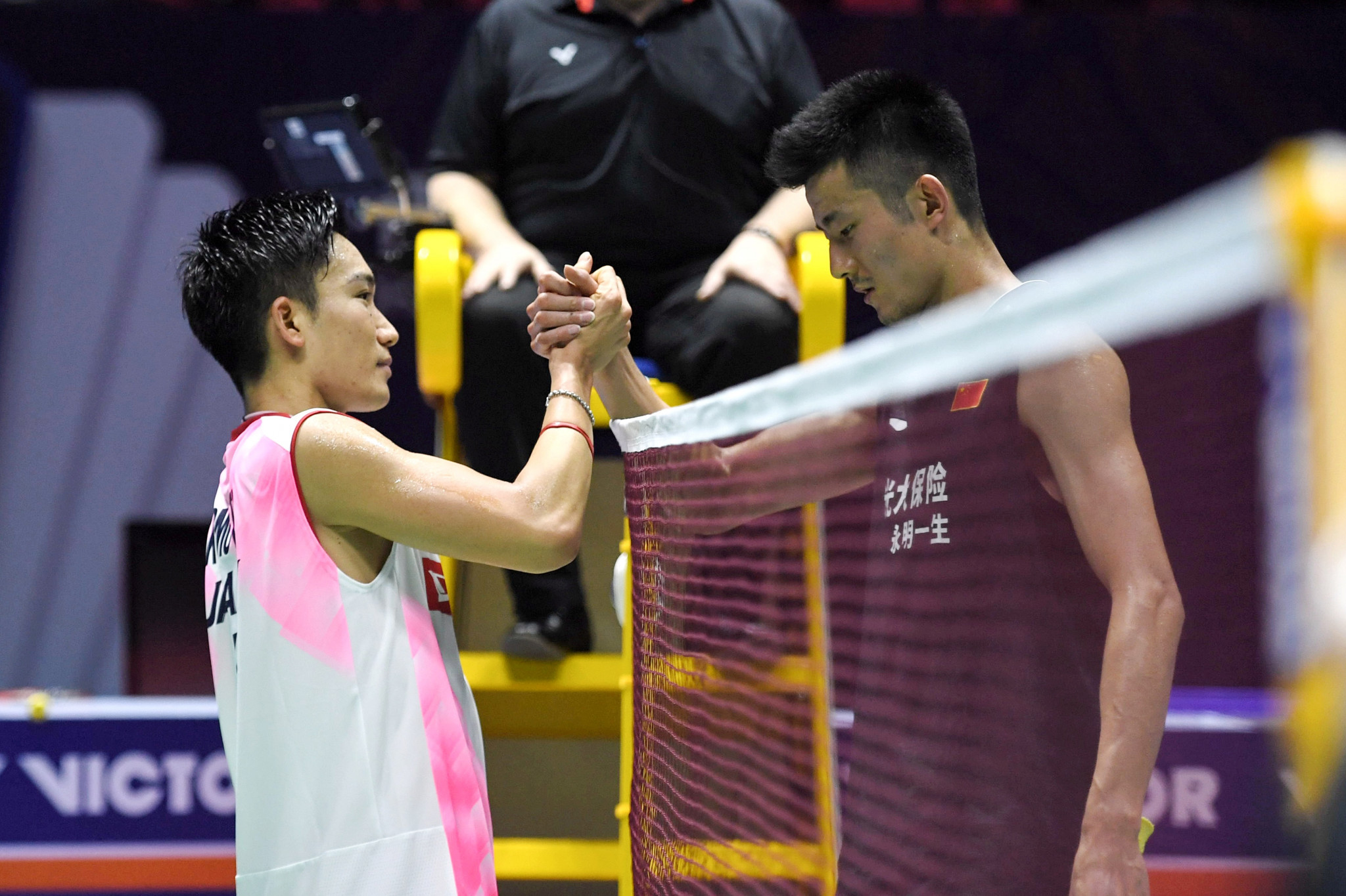 Momota and Chen to contest men's singles final at BWF Denmark Open
