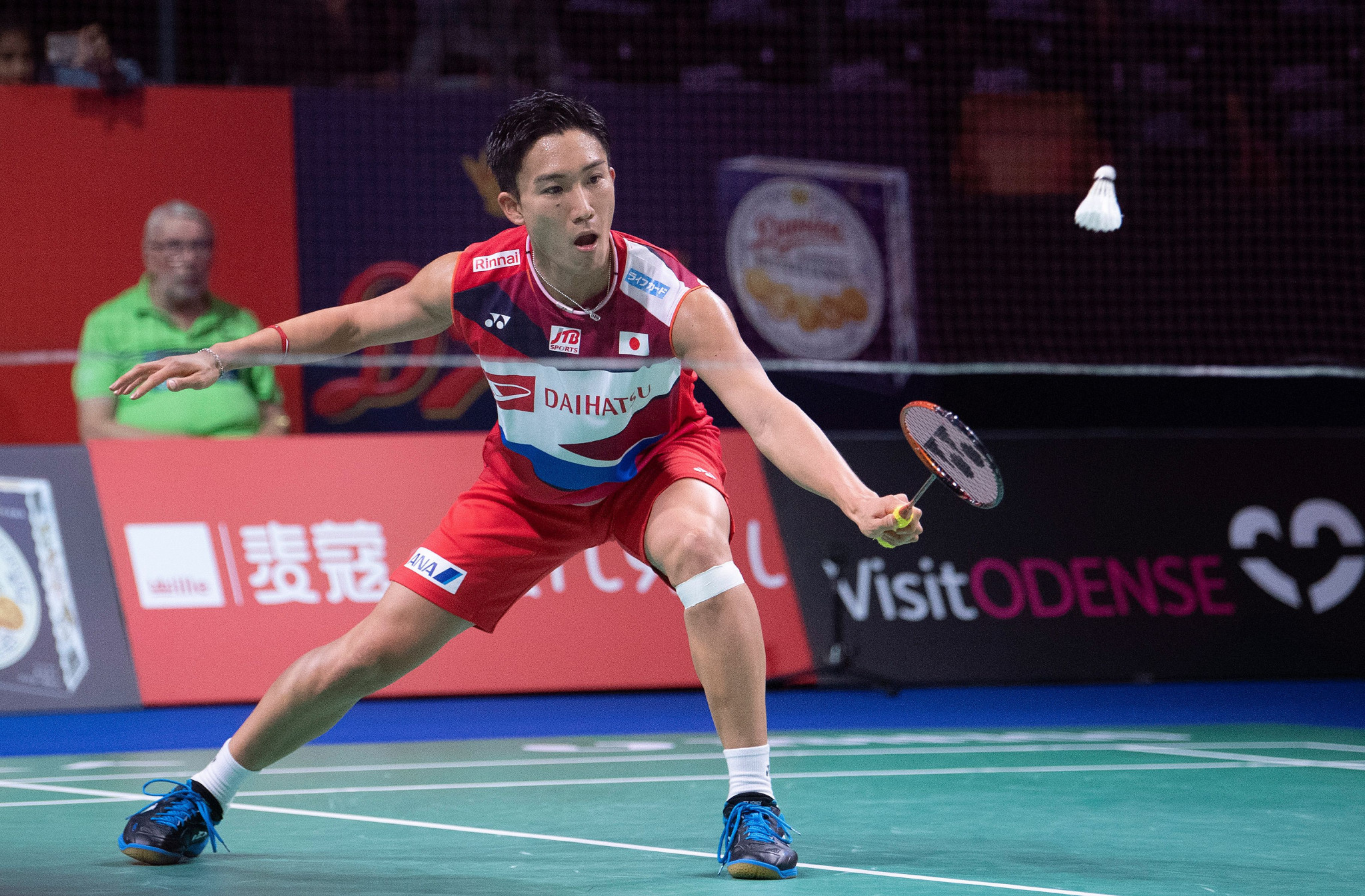Momota and Tai seal defence of titles at BWF Denmark Open