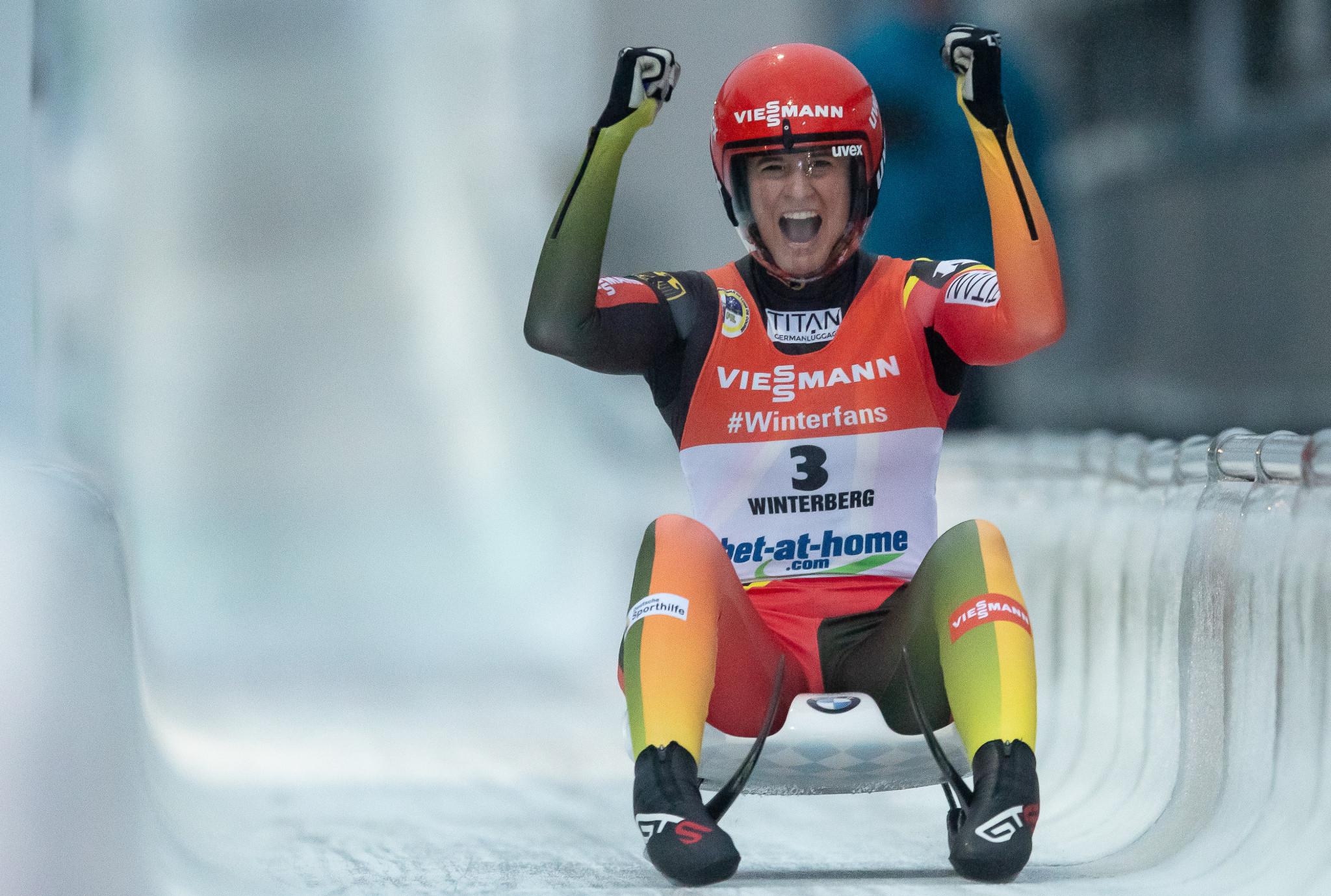 Olympic luge champion Geisenberger to skip upcoming season