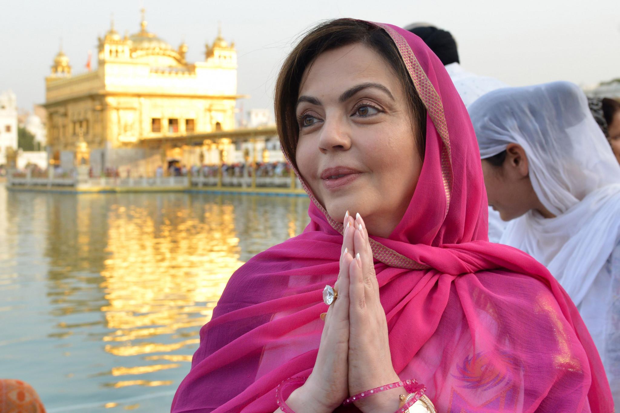 Nita Ambani is hopeful India will bid for the Olympics before she leaves the IOC ©Getty Images
