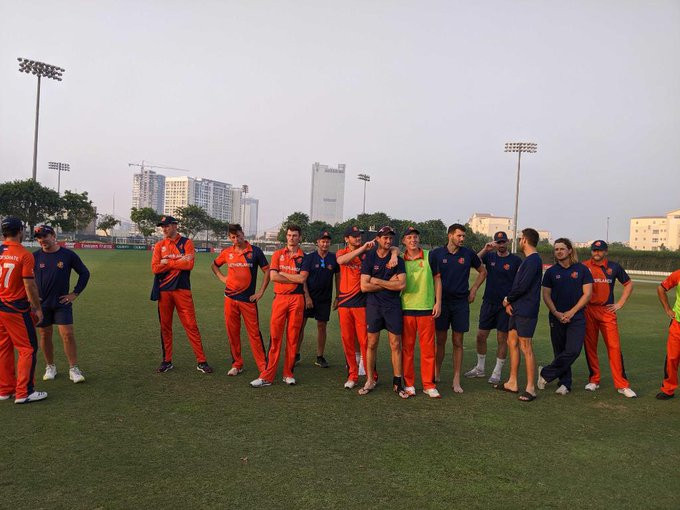 Netherlands maintain 100 per cent record at ICC T20 World Cup Qualifier