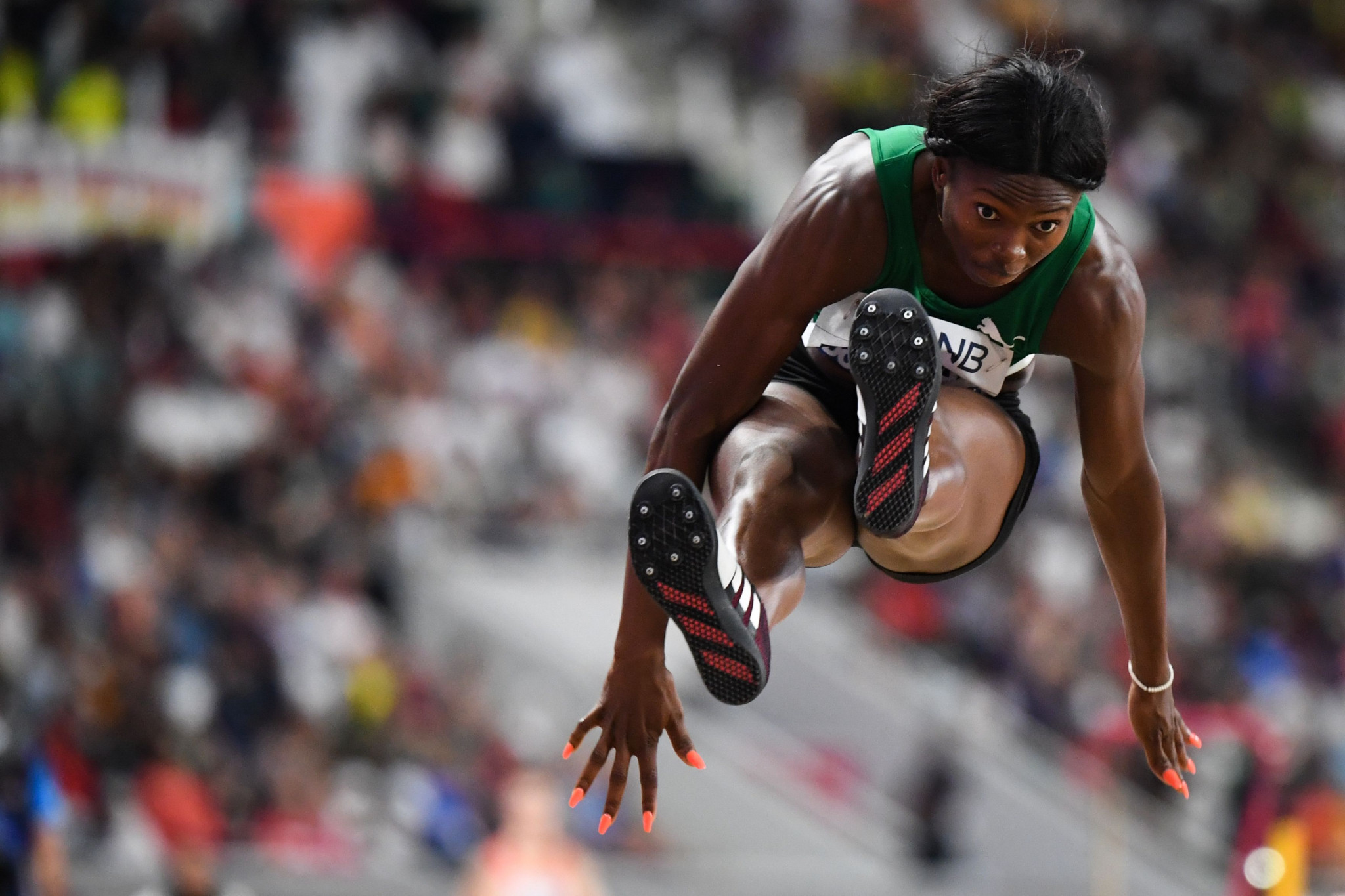 Sunday Dare has claimed Nigeria's reputation will be restored after the IAAF receives the money ©Getty Images