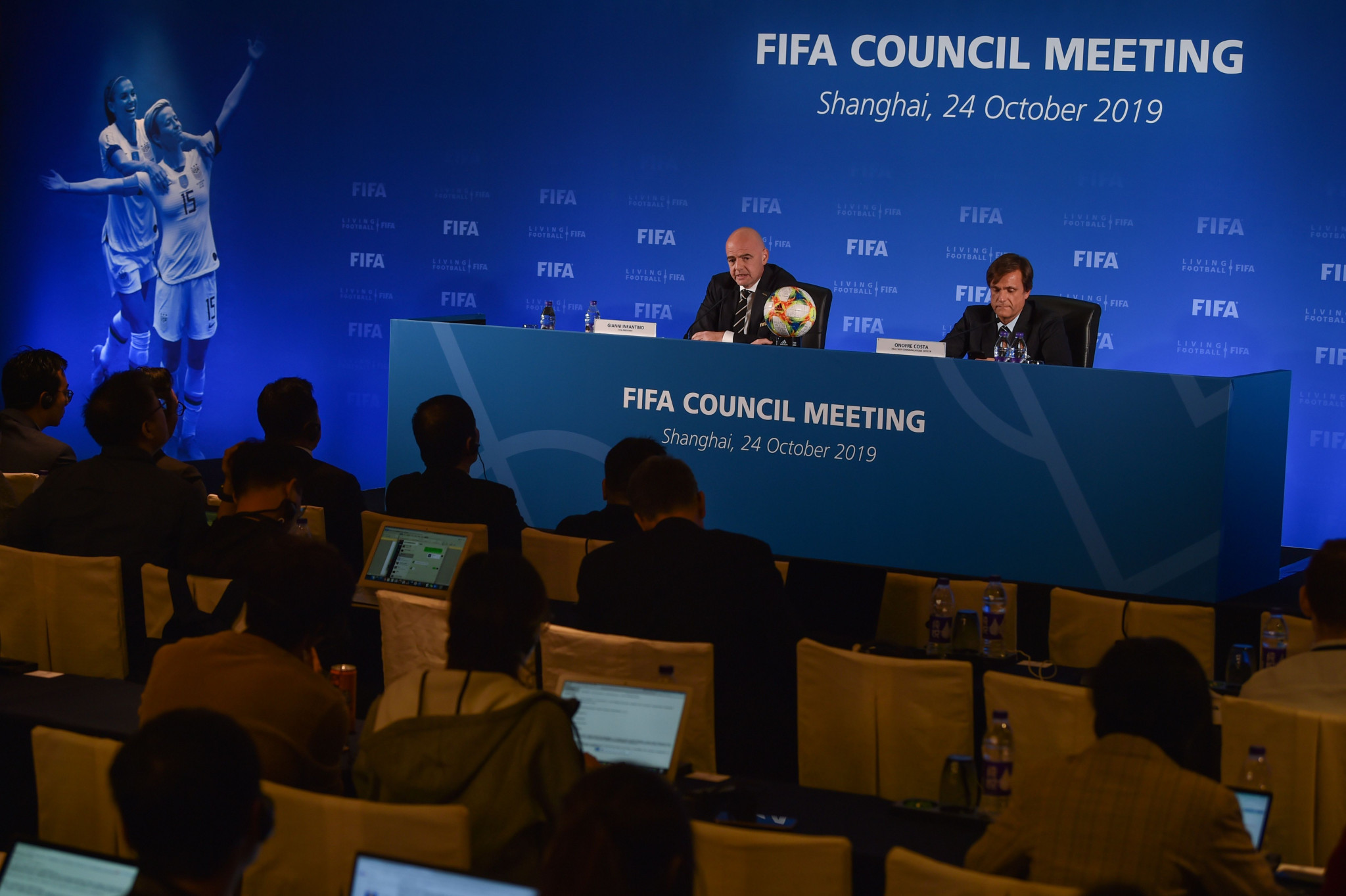 FIFA's ruling Council met in Shanghai ©Getty Images