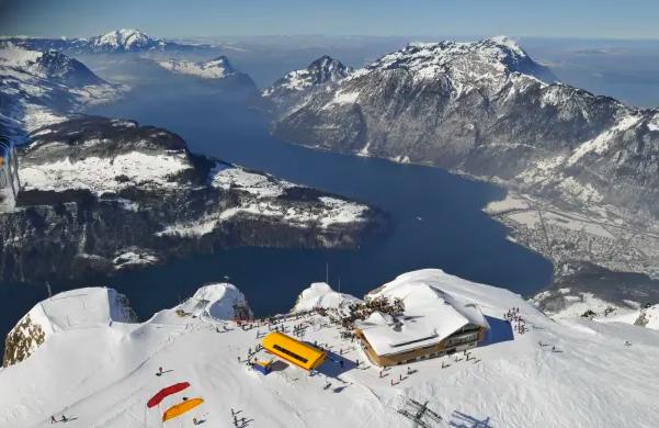 Stoos will host the alpine skiing at the Lucerne 2021 Winter Universiade ©FISU