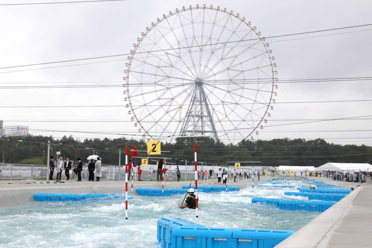 Kasai Canoe Slalom Centre under scrutiny at Tokyo 2020 test event