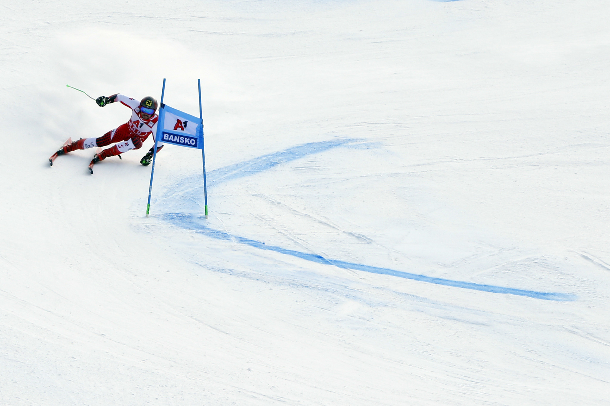The absence of Austrian star Marcel Hirscher opens the door for the rest of the men's field this season ©Getty Images