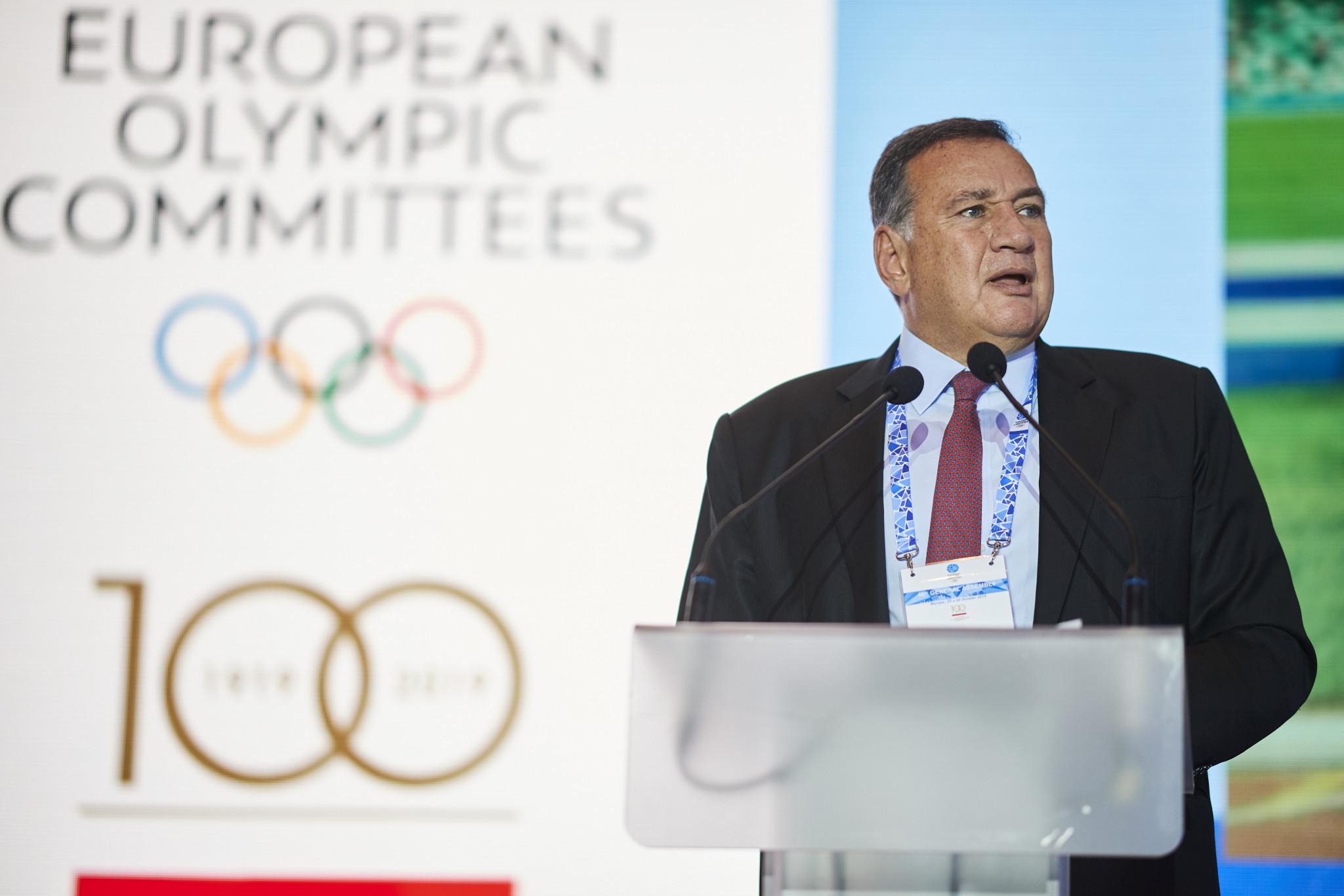 Capralos urges EOC to make European Games more sustainable