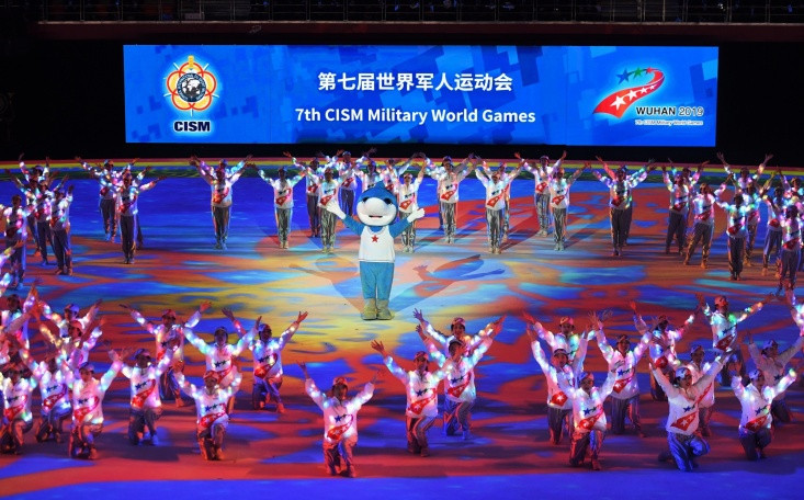 Athletes have alleged they contracted COVID-19 during the Military World Games ©CISM
