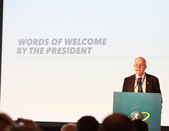 International Biathlon Union President Olle Dahlin is heading a series of major reforms ©IBU
