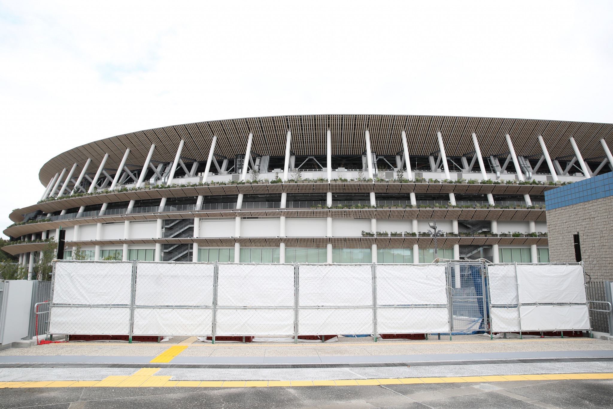 The Olympic Stadium in Tokyo will be inaugurated on December 21 ©Getty Images