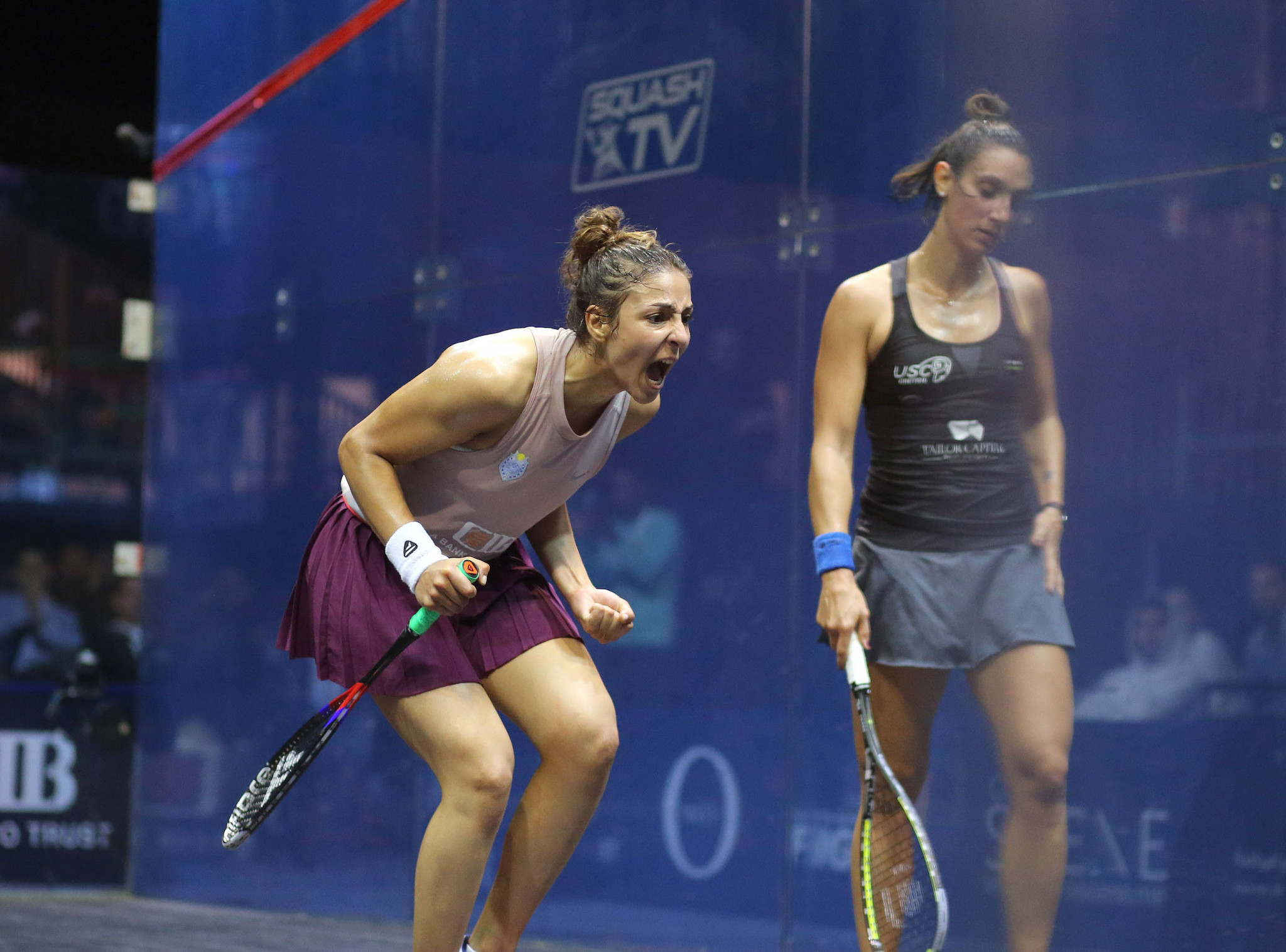 Egypt celebrate all four semi-finalist at PSA Women's World Championship after shock teenage victory