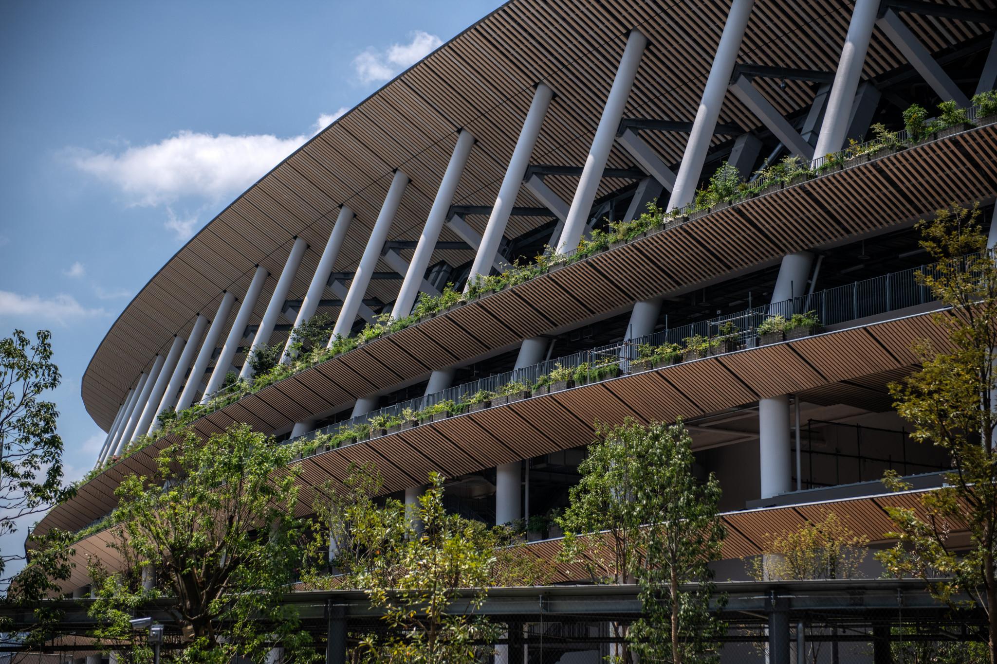 John Coates praised the New National Stadium ©Getty Images