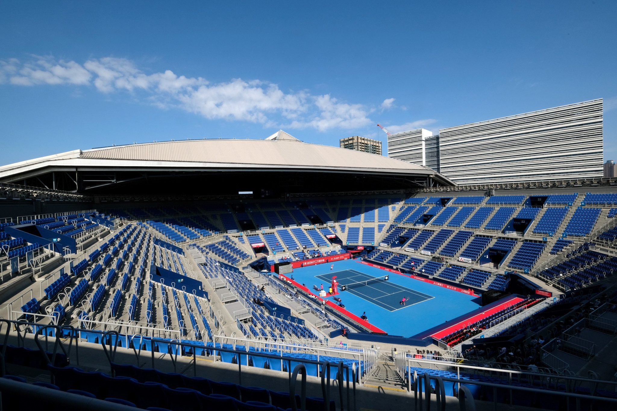 Ariake Coliseum will be the center court for the Olympic and Paralympic competitions © Getty Images
