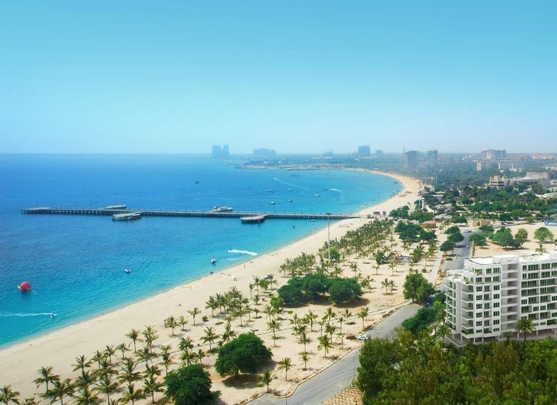 Kish Island, 19km away from the Iranian mainland, has been awarded a FIVB tour-leg in February ©beachonmap.com