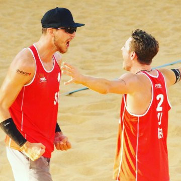 Heidrich and Gerson earn gold at FIVB Beach World Tour